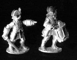 Rafm 25mm Seven Years War 6156 French Line Command 1759 (x 6 figs)